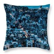 New York City Triptych Part 3 Throw Pillow