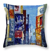 New York Dreams Throw Pillow