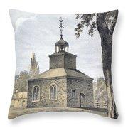New York: Jamaica Church Throw Pillow