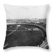 New York Motordrome, C1912 Throw Pillow