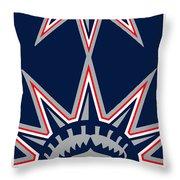 New York Rangers Throw Pillow