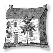 New York Senate, 1777 Throw Pillow
