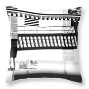 New York Shadows Throw Pillow