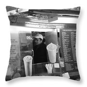 New York Street Photography 11 Throw Pillow