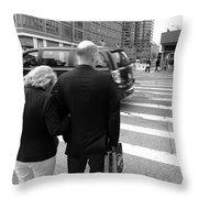 New York Street Photography 13 Throw Pillow