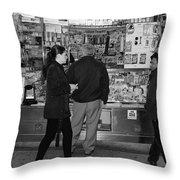 New York Street Photography 18 Throw Pillow
