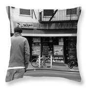 New York Street Photography 25 Throw Pillow