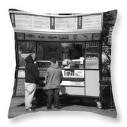 New York Street Photography 4 Throw Pillow