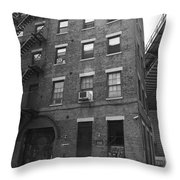 New York Street Photography 9 Throw Pillow