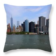 New York Strong Throw Pillow