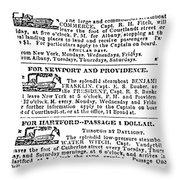 New York Sun, 1833 Throw Pillow