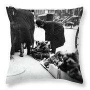 New York Toys, C1910 Throw Pillow