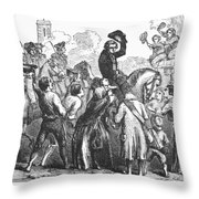 New York: Washington, 1776 Throw Pillow