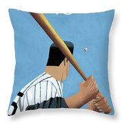 New Yorker April 12th, 1999 Throw Pillow