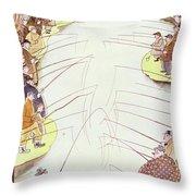 New Yorker April 18 1936 Throw Pillow
