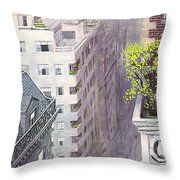New Yorker April 22nd, 1967 Throw Pillow