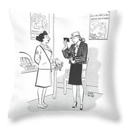 New Yorker April 29th, 1944 Throw Pillow