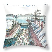 New Yorker April 30th, 1984 Throw Pillow