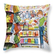 New Yorker August 11th, 1962 Throw Pillow