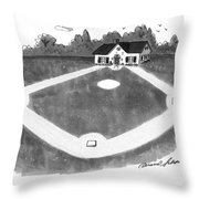 New Yorker August 12th, 1991 Throw Pillow