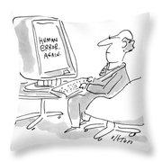 New Yorker August 23rd, 1993 Throw Pillow