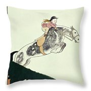 New Yorker August 24 1935 Throw Pillow