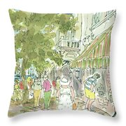 New Yorker August 26th, 1985 Throw Pillow