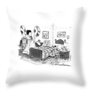 New Yorker August 26th, 1996 Throw Pillow