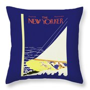 New Yorker August 27 1932 Throw Pillow