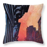 New Yorker August 27th, 1979 Throw Pillow