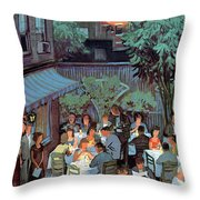 New Yorker August 2nd, 1958 Throw Pillow