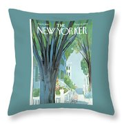 New Yorker August 30th, 1969 Throw Pillow