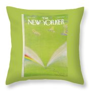 New Yorker August 7th, 1978 Throw Pillow
