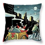 New Yorker December 15, 2008 Throw Pillow