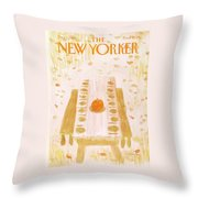 New Yorker December 1st, 1980 Throw Pillow