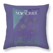 New Yorker December 27th, 1976 Throw Pillow