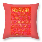 New Yorker February 11th, 1967 Throw Pillow