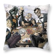 New Yorker February 12th, 1996 Throw Pillow