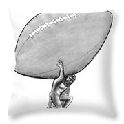 New Yorker February 1st, 1993 Throw Pillow