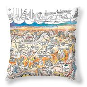 New Yorker February 22nd, 1999 Throw Pillow