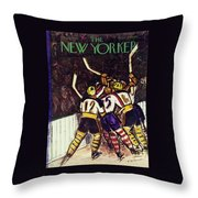 New Yorker January 13 1940 Throw Pillow