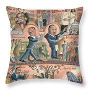 New Yorker January 18th, 1999 Throw Pillow