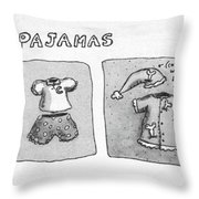New Yorker January 5th, 1981 Throw Pillow