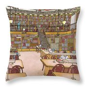 New Yorker January 9th, 1984 Throw Pillow