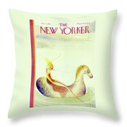 New Yorker July 11 1931 Throw Pillow