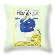 New Yorker July 16 1932 Throw Pillow