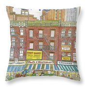 New Yorker July 18th, 1983 Throw Pillow
