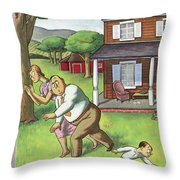 New Yorker July 3rd, 1937 Throw Pillow