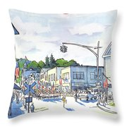 New Yorker July 6th, 1981 Throw Pillow
