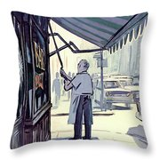 New Yorker July 8th, 1967 Throw Pillow